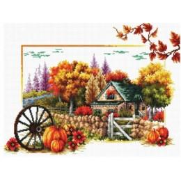 Осень - Classic Design - набор для вышивки крестом