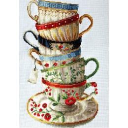 Набор для вышивки крестом - Classic Design - 8306 Любимые чашки