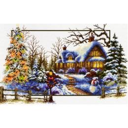 Зимнее волшебство - Classic Design - набор для вышивки крестом