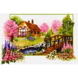 Весеннее цветение - Classic Design - набор вышивки крестом
