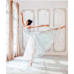 Балерина - LETISTITCH - набор вышивки крестом