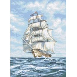 Набор для вышивки крестом - LETISTITCH - LETI 907 Ship / Корабль