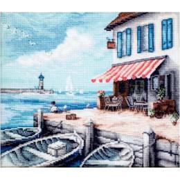 Морской порт - LETISTITCH - набор для вышивки крестом