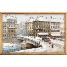 «Вена» по мотивам картины К. Заичека - РИОЛИС - набор для вышивки крестом