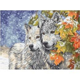 Набор для вышивки крестом - LETISTITCH - Early Snowfall / Ранний снегопад