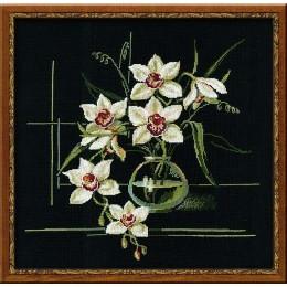 Набор для вышивки крестом - РИОЛИС - 941 Орхидеи