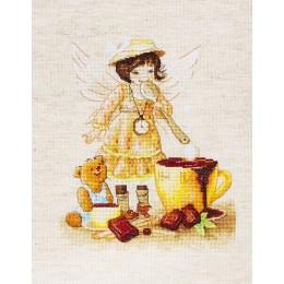 Горячий шоколад - Luca-S - набор для вышивки крестом
