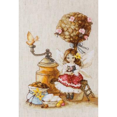 Kофейная фея - Luca-S - набор вышивки крестом