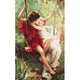 Набор для вышивки крестом - Luca-S - B415 Весна влюбленных