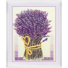 Набор для вышивки крестом - OlanTa - VN-049 Букет лаванды