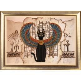 Египетская кошка - Butterfly - набор вышивки бисером