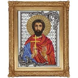 Икона Св. Евгений - ТМ Вышиваем бисером - вышивка бисером икон