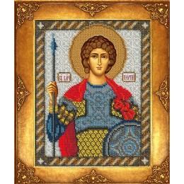 Икона Св. Георгий - Русская искусница - вышивка бисером икон