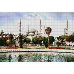 Авторский набор вышивки бисером - Токарева А. - Голубая мечеть
