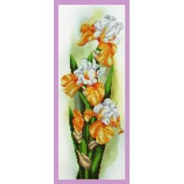 Набор для вышивки бисером - Картины бисером - Р-310 Желтые ирисы
