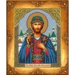 Икона Св. Юрий - Русская искусница - вышивка бисером икон