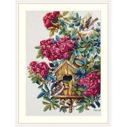 Куст розы - ТМ Мережка - набор для вышивки крестом