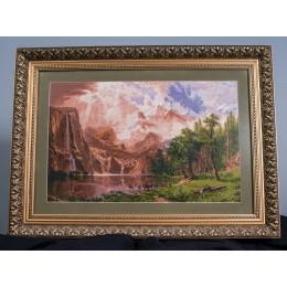 Вышитая картина Сиерра-Невада
