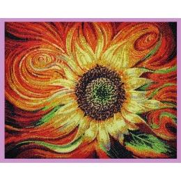 Набор для вышивки бисером - Картины бисером - Р-277 Огненный цветок