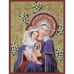 Икона БОГОРОДИЦА ПОКРЫВАЮЩАЯ - Изящное рукоделие - вышивка бисером икон
