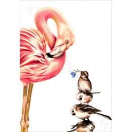 Авторский набор для вышивки бисером - Токарева А. - 40-2745-НЦЧ Цветочек