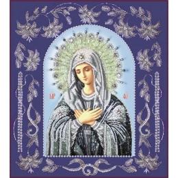 Икона Богородица Умиление (в рамке) - Изящное рукоделие - вышивка бисером икон