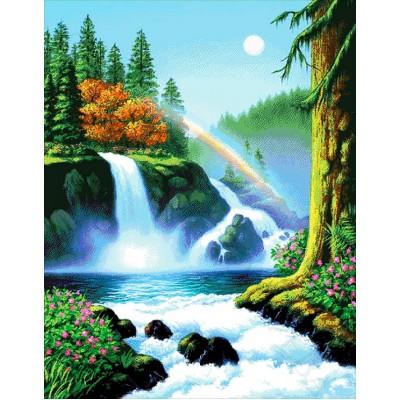Авторский набор для вышивки бисером - Токарева А. - Летний день в лесу 60-6141-НЛ