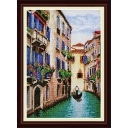 Набор для вышивки крестом - OlanTa - VN-046 Венеция