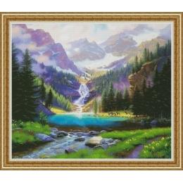 Набор для вышивки крестом - OLanTA - VN-040 Водопад