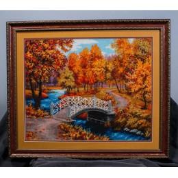 Вышитая картина Осенняя мелодия