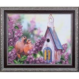 Дикие голуби - Магия канвы - набор для вышивки бисером