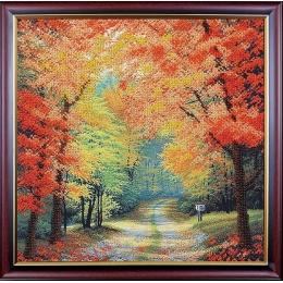 Поздняя осень - Магия канвы - набор для вышивки бисером
