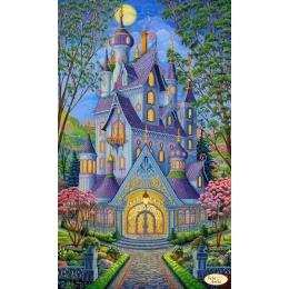 Схема для вышивки бисером - Тэла Артис - Волшебный замок. Весна