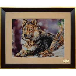 Набор для вышивки бисером - Тэла Артис - НГ-018 Волк