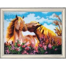Набор для вышивки бисером - Butterfly - Обожаю тебя (по картине Елены Самарской)