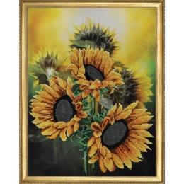 Набор для вышивки бисером - Картины бисером - Р-126 Отражение солнца