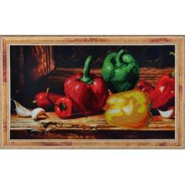 Набор для вышивки бисером - Картины бисером - Р-153 Перцы