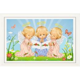 Набор для вышивки бисером - Тэла Артис - НТМ-025-2 Почти идеальный (мальчик)