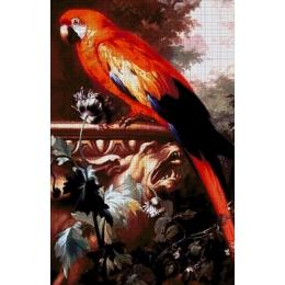 Авторский набор для вышивки бисером - Токарева А. - Попугай 45-3266-НП
