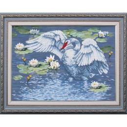Райское озеро - Магия канвы - набор вышивки бисером