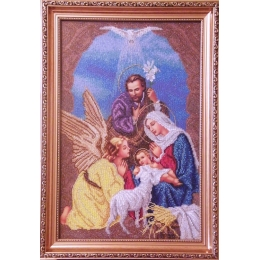 Рождество Христово - 2 - БС Солес - вышивка бисером икон