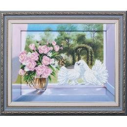 Романтика - Магия канвы - набор вышивки бисером