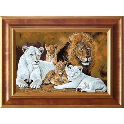 Набор для вышивки бисером - Империя бисера - Великолепное семейство