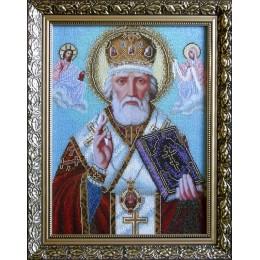 Святой Николай - БС Солес - вышивка бисером икон