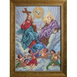 Святая Троица - БС Солес - вышивка бисером икон