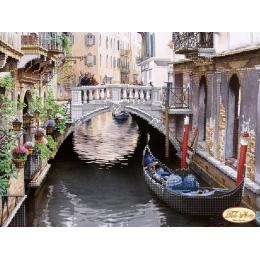 Живописная Венеция - Тэла Артис - схема вышивки бисером