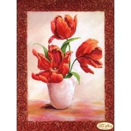 Магический тюльпан - Тэла Артис - схема вышивки бисером