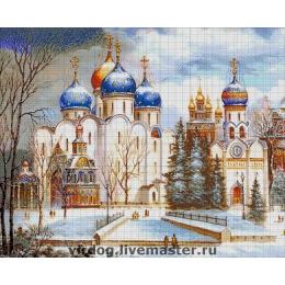 Авторский набор для вышивки бисером - Токарева А. - Троице-Сергиева Лавра 42-4118-НТ