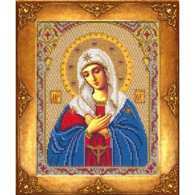 Вышивка бисером икон - Русская искусница - Икона Богородица Умиление