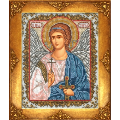 Вышивка бисером икон - Русская искусница - Икона Ангел Хранитель